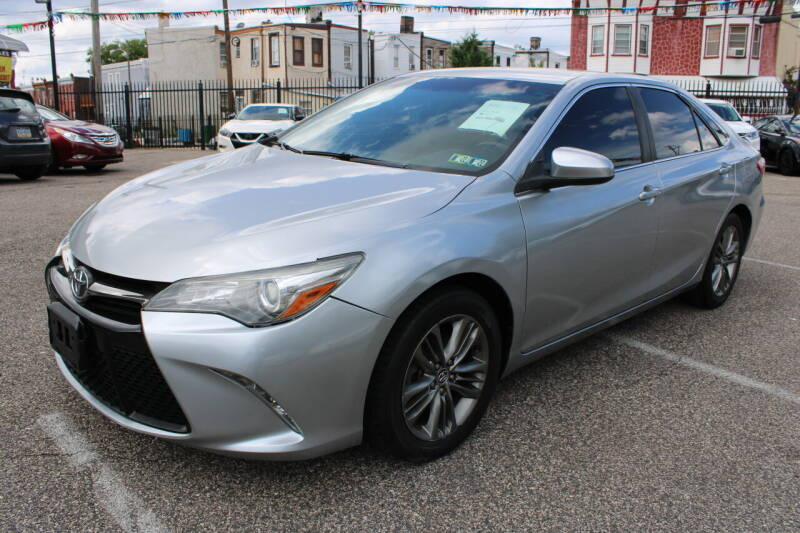 2016 Toyota Camry for sale at EZ PASS AUTO SALES LLC in Philadelphia PA