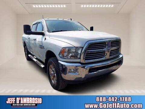 2015 RAM Ram Pickup 2500 for sale at Jeff D'Ambrosio Auto Group in Downingtown PA