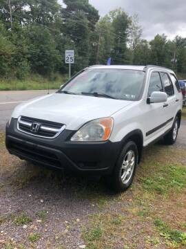 2002 Honda CR-V for sale at Car Man Auto in Old Forge PA