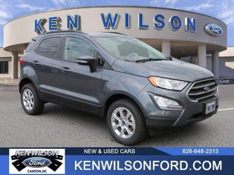 2021 Ford EcoSport for sale at Ken Wilson Ford in Canton NC