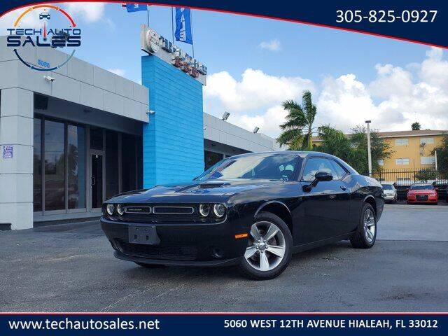 2020 Dodge Challenger for sale at Tech Auto Sales in Hialeah FL