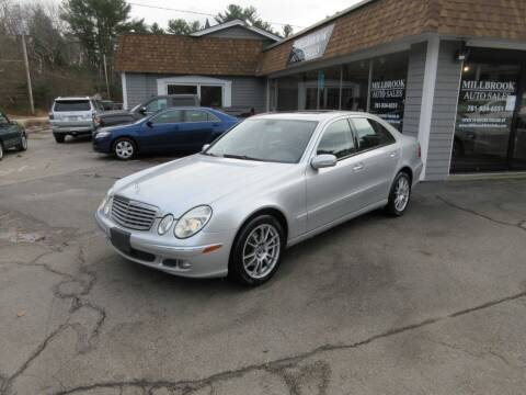 2006 Mercedes-Benz E-Class for sale at Millbrook Auto Sales in Duxbury MA