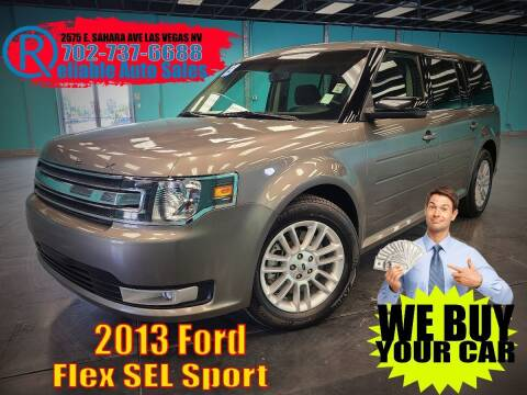 2013 Ford Flex for sale at Reliable Auto Sales in Las Vegas NV