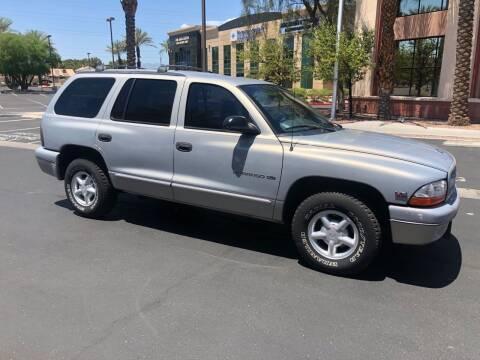 2000 Dodge Durango for sale at GEM Motorcars in Henderson NV