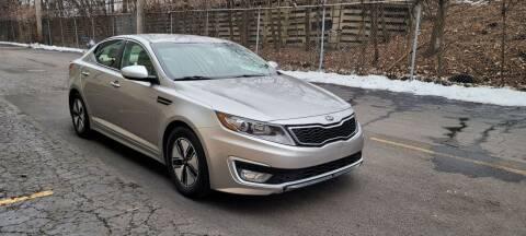 2013 Kia Optima Hybrid for sale at U.S. Auto Group in Chicago IL