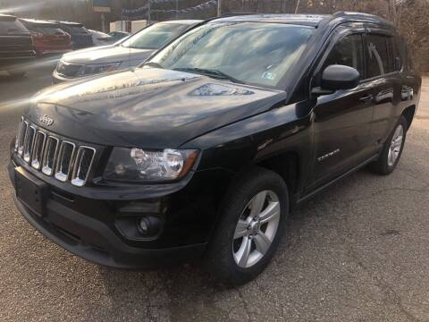 2014 Jeep Compass for sale at Matt Jones Preowned Auto in Wheeling WV