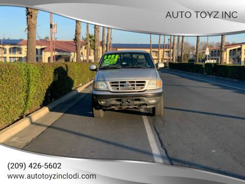 2003 Ford F-150 for sale at Auto Toyz Inc in Lodi CA