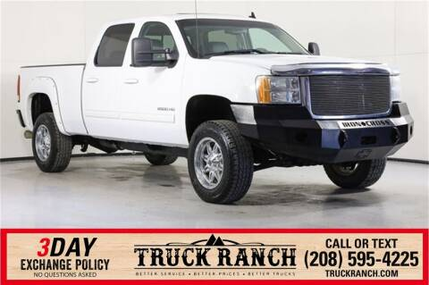 2010 GMC Sierra 2500HD for sale at Truck Ranch in Twin Falls ID