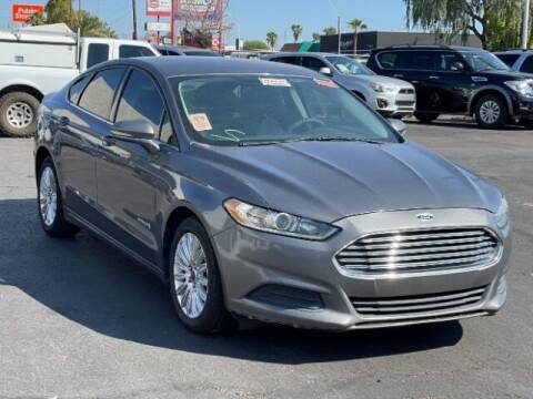 2013 Ford Fusion Hybrid for sale at Curry's Cars Powered by Autohouse - Brown & Brown Wholesale in Mesa AZ