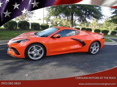 2020 Chevrolet Corvette for sale at Carolina Motors at the Rock - Carolina Motors-Thomasville in Thomasville NC