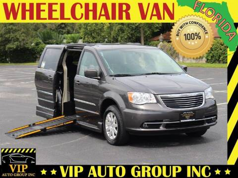 2016 Chrysler Town and Country for sale at VIP Auto Group in Clearwater FL