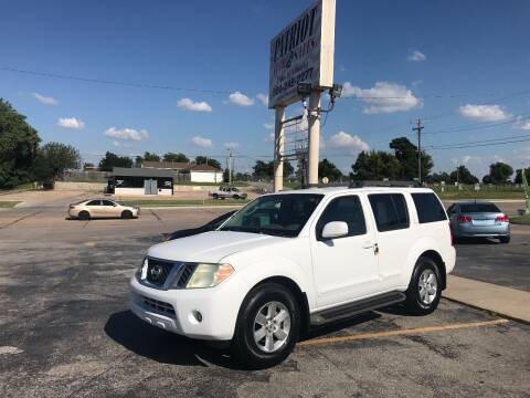 2010 Nissan Pathfinder for sale at Patriot Auto Sales in Lawton OK