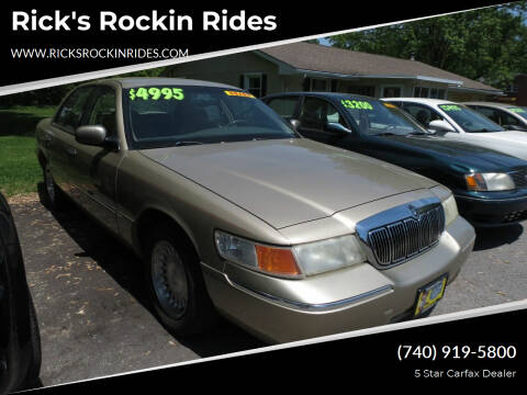 1999 Mercury Grand Marquis for sale at Rick's Rockin Rides in Reynoldsburg OH