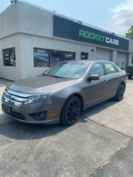 2010 Ford Fusion for sale at Rocket Cars Auto Sales LLC in Des Moines IA