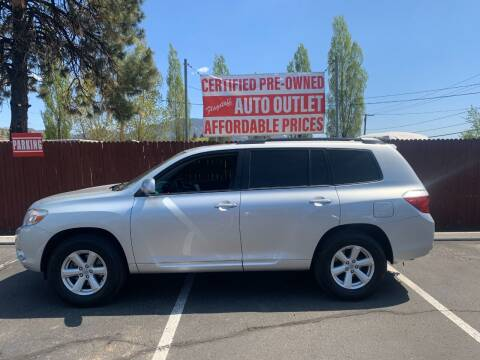 2010 Toyota Highlander for sale at Flagstaff Auto Outlet in Flagstaff AZ