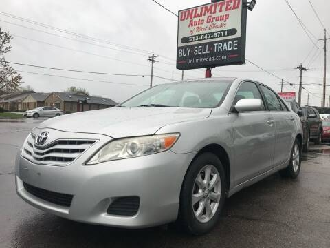2011 Toyota Camry for sale at Unlimited Auto Group in West Chester OH