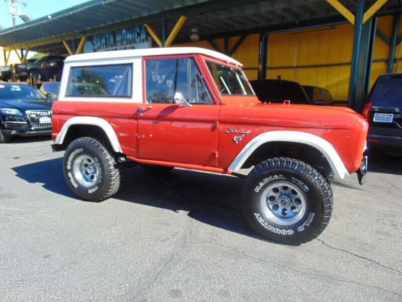 1966 Ford Bronco for sale at Santa Monica Suvs in Santa Monica CA
