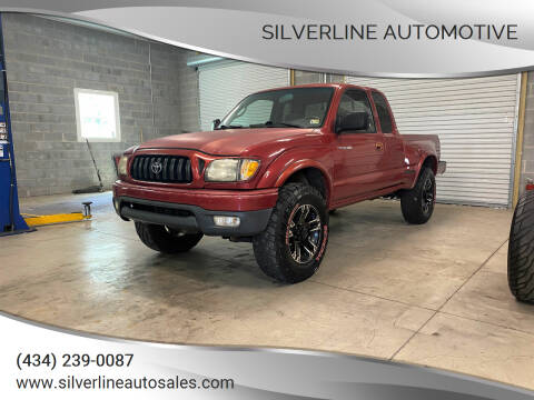 2002 Toyota Tacoma for sale at Silverline Automotive in Lynchburg VA