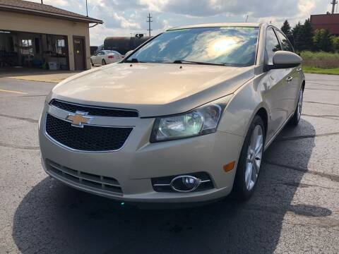 2011 Chevrolet Cruze for sale at Mike's Budget Auto Sales in Cadillac MI