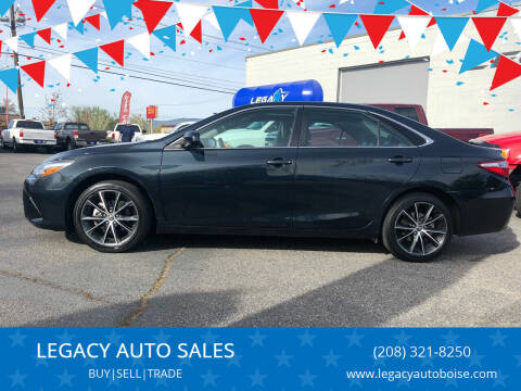 2015 Toyota Camry for sale at LEGACY AUTO SALES in Boise ID