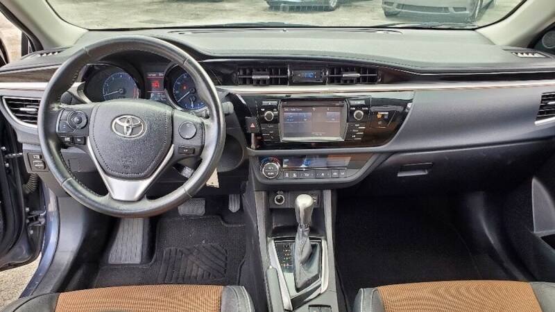 2015 Toyota Corolla S Plus 4dr Sedan CVT - Miami FL