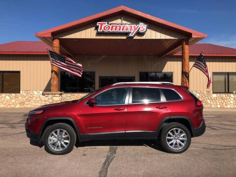 2015 Jeep Cherokee for sale at Tommy's Car Lot in Chadron NE