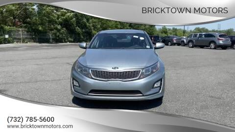2015 Kia Optima Hybrid for sale at Bricktown Motors in Brick NJ