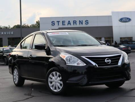 2016 Nissan Versa for sale at Stearns Ford in Burlington NC