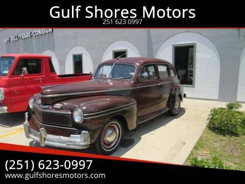 1942 Mercury Eight for sale at Gulf Shores Motors in Gulf Shores AL