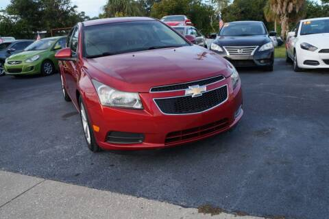 2012 Chevrolet Cruze for sale at J Linn Motors in Clearwater FL