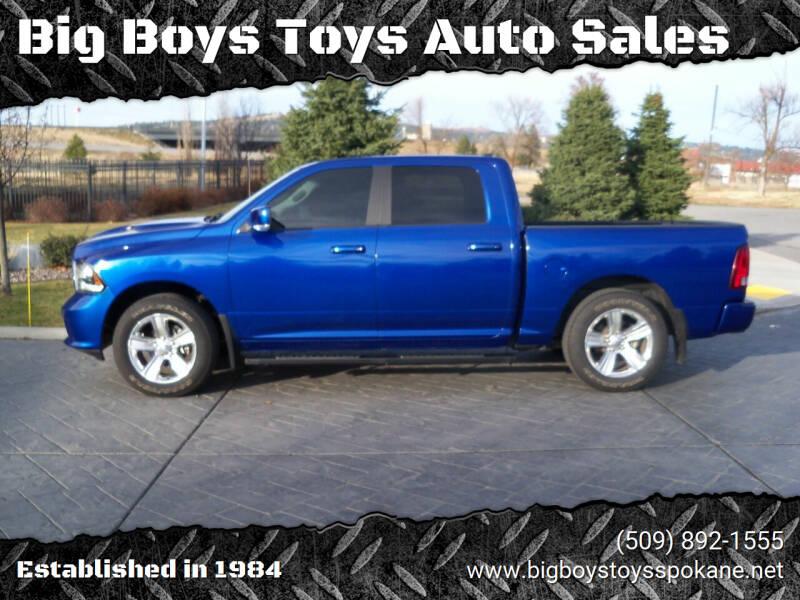 2016 RAM Ram Pickup 1500 for sale at Big Boys Toys Auto Sales in Spokane Valley WA
