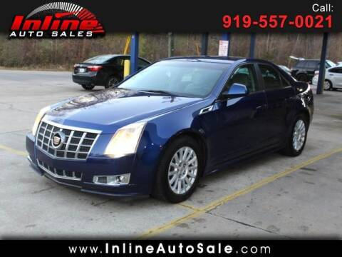 2012 Cadillac CTS for sale at Inline Auto Sales in Fuquay Varina NC