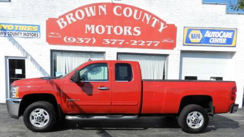 2011 Chevrolet Silverado 2500HD for sale at Brown County Motors in Russellville OH