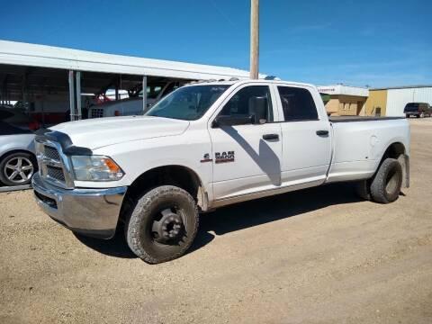 2014 RAM Ram Pickup 3500 for sale at Brad Waller Automotive in Stockton KS