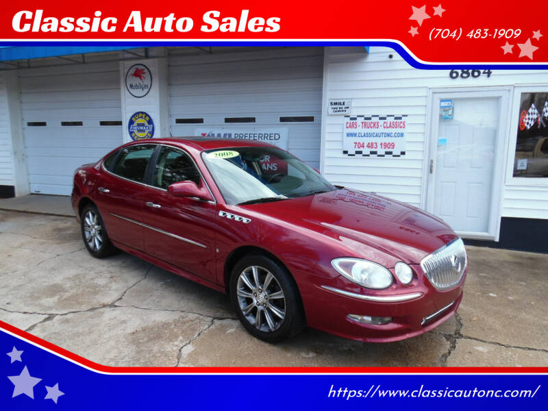 2008 Buick LaCrosse for sale at Classic Auto Sales in Maiden NC