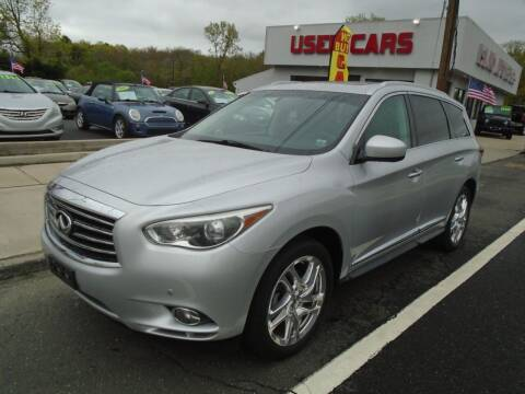2013 Infiniti JX35 for sale at Island Auto Buyers in West Babylon NY