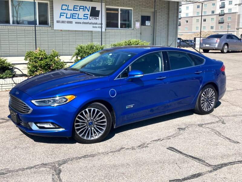 2017 Ford Fusion Energi for sale at Clean Fuels Utah in Orem UT