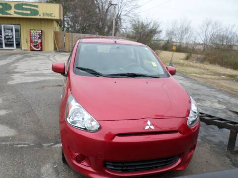 2014 Mitsubishi Mirage for sale at Credit Cars of NWA in Bentonville AR