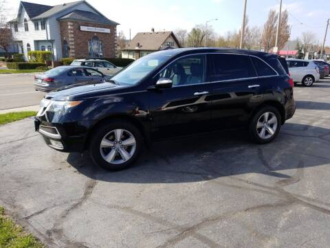 2011 Acura MDX for sale at Indiana Auto Sales Inc in Bloomington IN