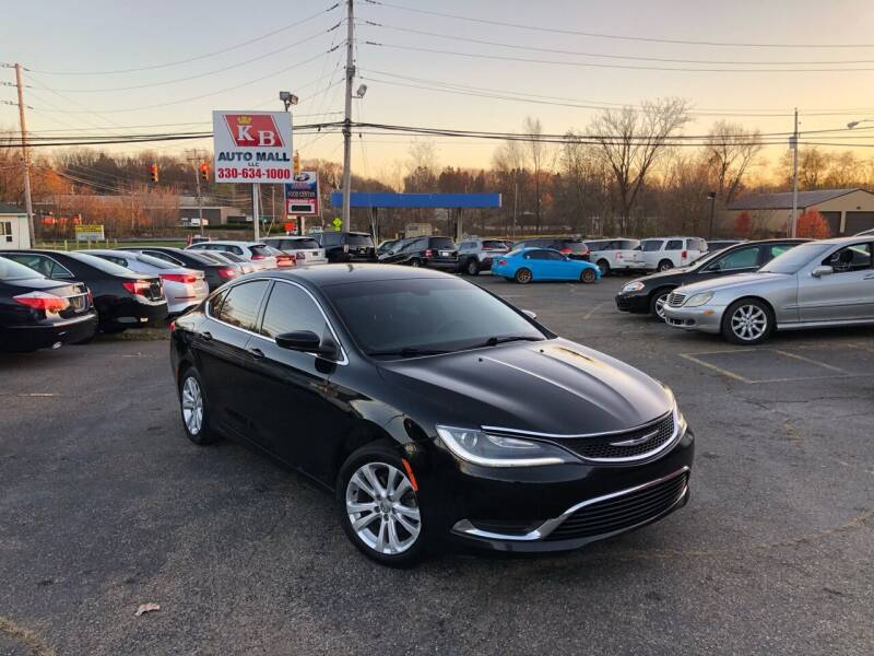 2015 Chrysler 200 for sale at KB Auto Mall LLC in Akron OH