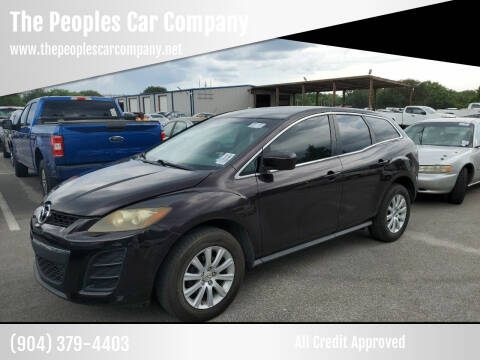 2010 Mazda CX-7 for sale at The Peoples Car Company in Jacksonville FL