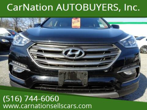 2017 Hyundai Santa Fe Sport for sale at CarNation AUTOBUYERS, Inc. in Rockville Centre NY