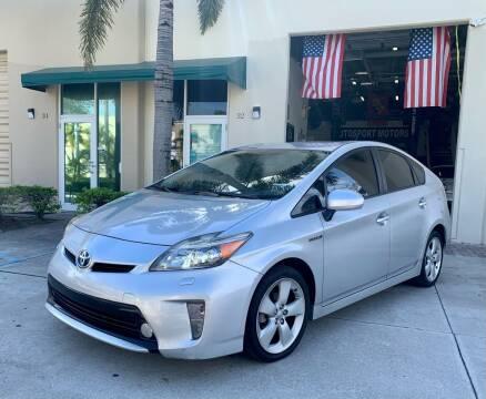 2013 Toyota Prius for sale at AUTOSPORT MOTORS in Lake Park FL