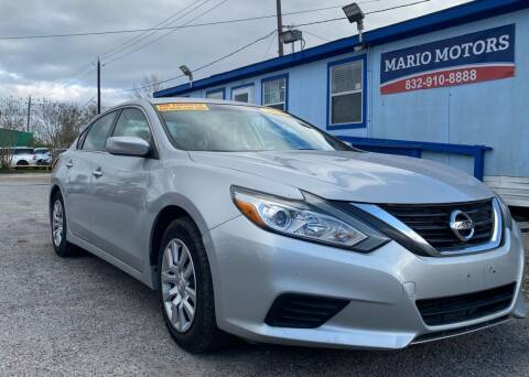2016 Nissan Altima for sale at Mario Motors in South Houston TX