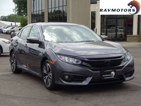 2017 Honda Civic for sale at RAVMOTORS 2 in Crystal MN