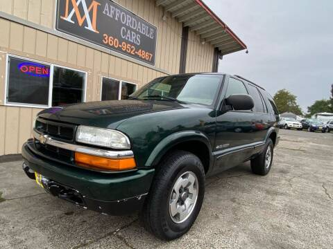 2002 Chevrolet Blazer for sale at M & A Affordable Cars in Vancouver WA