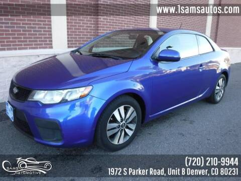 2013 Kia Forte Koup for sale at SAM'S AUTOMOTIVE in Denver CO