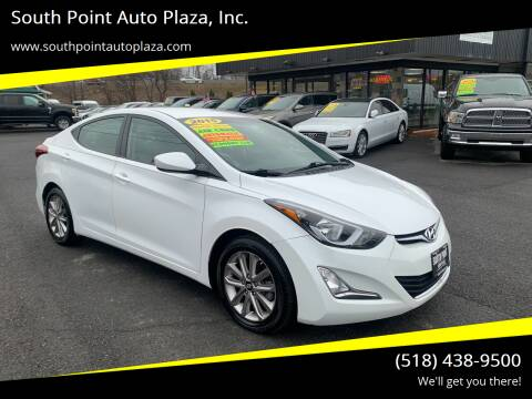 2015 Hyundai Elantra for sale at South Point Auto Plaza, Inc. in Albany NY