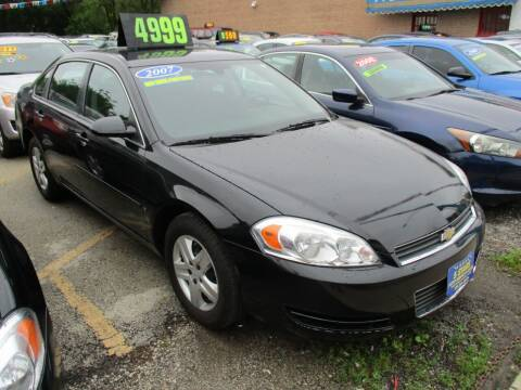 2007 Chevrolet Impala for sale at 5 Stars Auto Service and Sales in Chicago IL