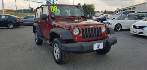 2008 Jeep Wrangler for sale at I-80 Auto Sales in Hazel Crest IL